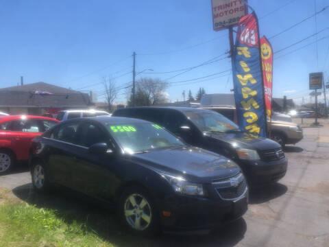 2014 Chevrolet Cruze for sale at Trinity Motors in Lackawanna NY