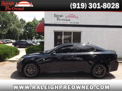 2012 Lexus IS 350 for sale at Raleigh Pre-Owned in Raleigh NC