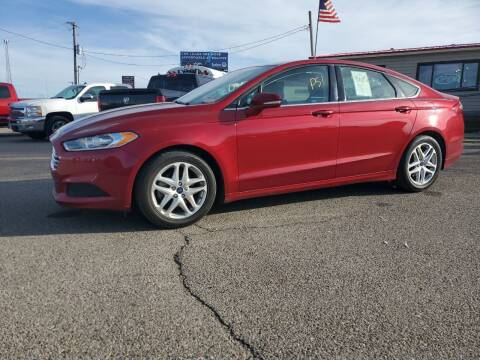 2016 Ford Fusion for sale at Revolution Auto Group in Idaho Falls ID