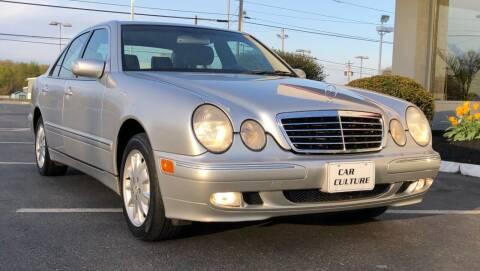 2002 Mercedes-Benz E-Class for sale at Car Culture in Warren OH