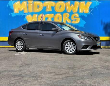 2017 Nissan Sentra for sale at Midtown Motors in San Jose CA
