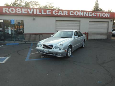 2001 Mercedes-Benz E-Class for sale at ROSEVILLE CAR CONNECTION in Roseville CA