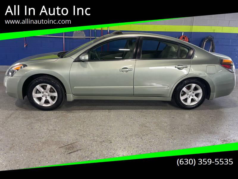 2007 Nissan Altima for sale at All In Auto Inc in Addison IL