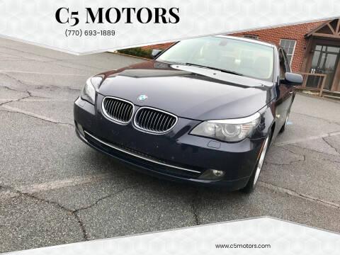 2008 BMW 5 Series for sale at C5 Motors in Marietta GA
