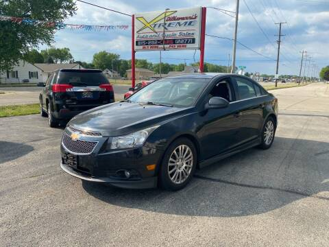 2012 Chevrolet Cruze for sale at DiGiovanni's Xtreme Auto & Cycle Sales in Machesney Park IL