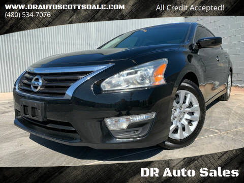 2015 Nissan Altima for sale at DR Auto Sales in Scottsdale AZ