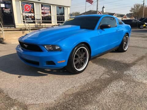 2012 Ford Mustang for sale at Bagwell Motors Springdale in Springdale AR