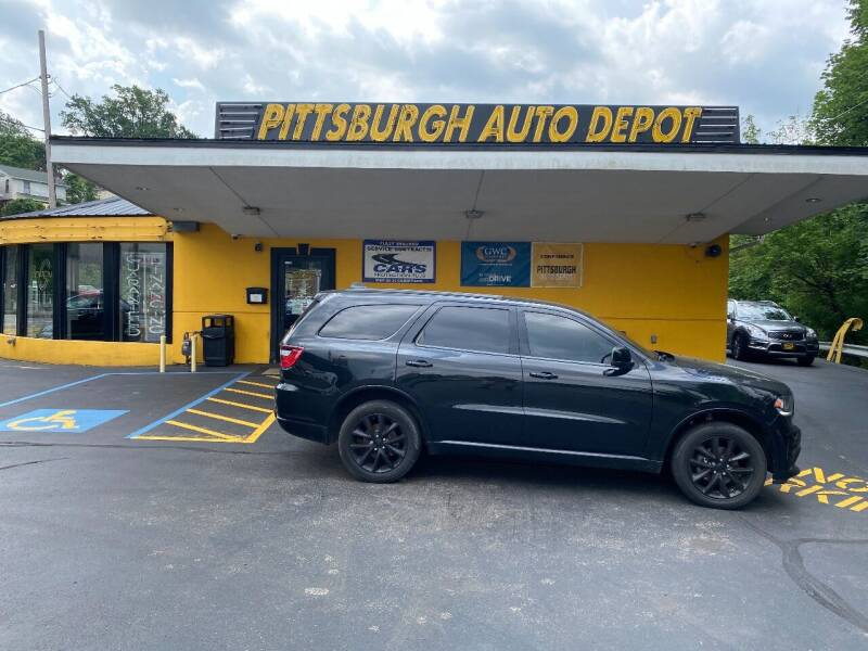 2018 Dodge Durango for sale at Pittsburgh Auto Depot in Pittsburgh PA