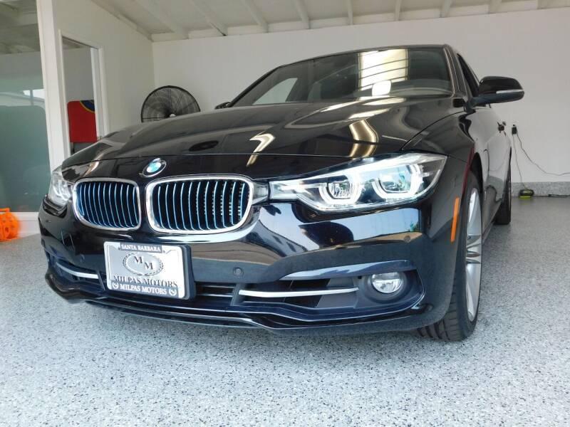 2017 BMW 3 Series for sale at Milpas Motors in Santa Barbara CA