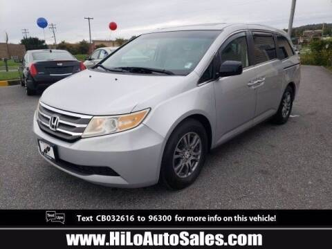 2012 Honda Odyssey for sale at Hi-Lo Auto Sales in Frederick MD