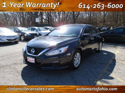 2018 Nissan Altima for sale at Clintonville Car Sales - AutoMart of Ohio in Columbus OH