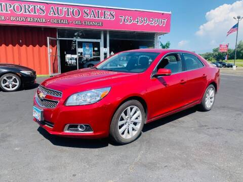 2013 Chevrolet Malibu for sale at LUXURY IMPORTS AUTO SALES INC in North Branch MN