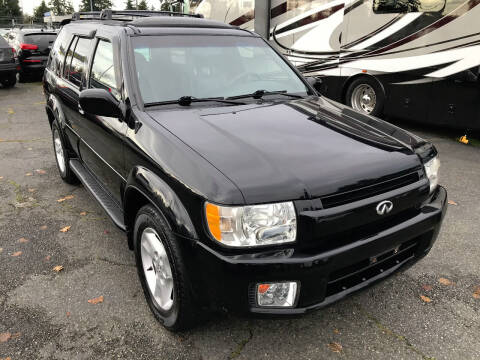 2002 Infiniti QX4 for sale at Autos Cost Less LLC in Lakewood WA