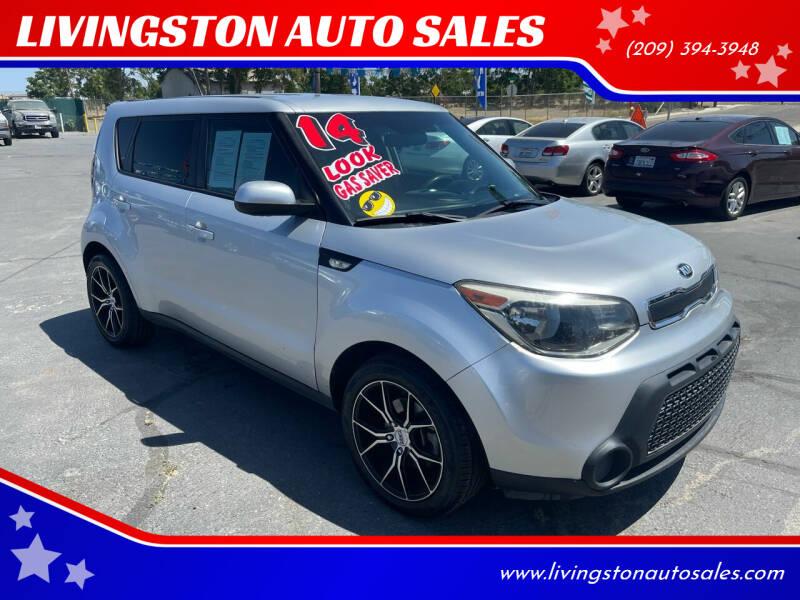 2014 Kia Soul for sale at LIVINGSTON AUTO SALES in Livingston CA
