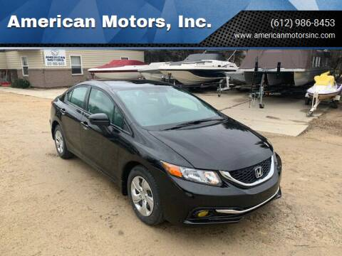 2015 Honda Civic for sale at American Motors, Inc. in Farmington MN