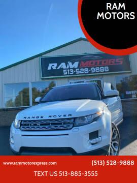2012 Land Rover Range Rover Evoque for sale at RAM MOTORS in Cincinnati OH