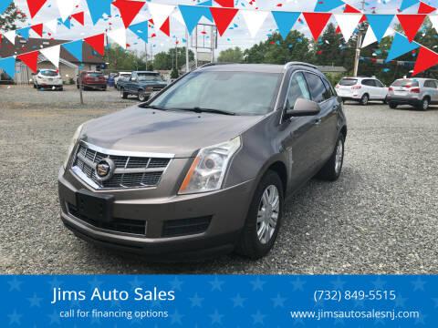 2011 Cadillac SRX for sale at Jims Auto Sales in Lakehurst NJ