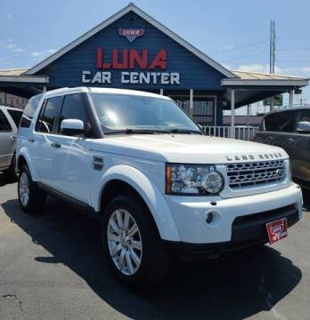 2012 Land Rover LR4 for sale at LUNA CAR CENTER in San Antonio TX