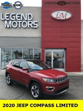 2020 Jeep Compass for sale at Legend Motors of Ferndale in Ferndale MI