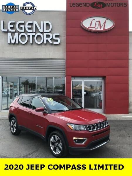 2020 Jeep Compass for sale at Legend Motors of Waterford - Legend Motors of Ferndale in Ferndale MI