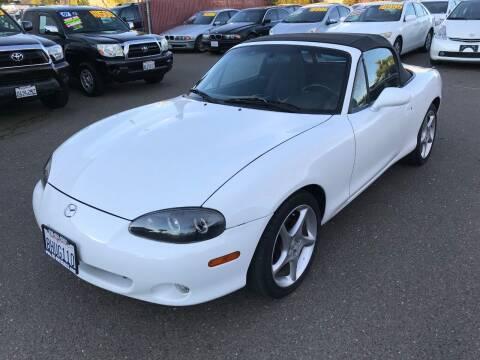 2002 Mazda MX-5 Miata for sale at C. H. Auto Sales in Citrus Heights CA