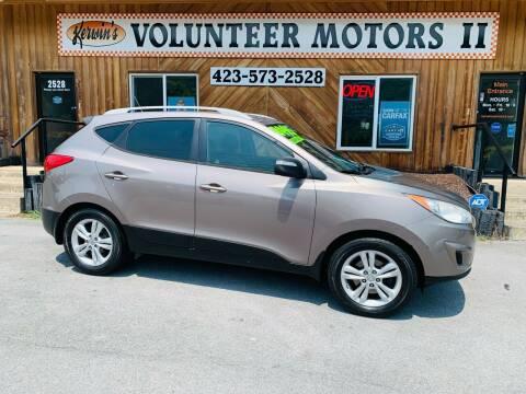 2012 Hyundai Tucson for sale at Kerwin's Volunteer Motors in Bristol TN