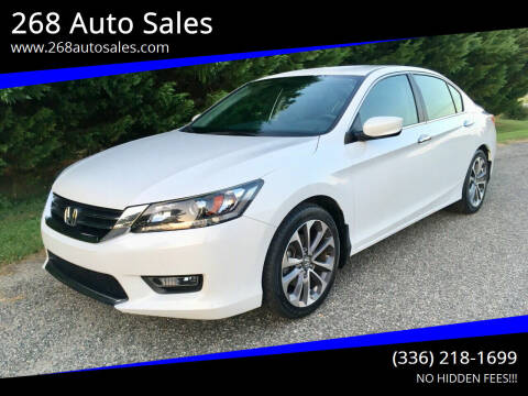 2015 Honda Accord for sale at 268 Auto Sales in Dobson NC