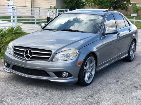 2009 Mercedes-Benz C-Class for sale at CARSTRADA in Hollywood FL