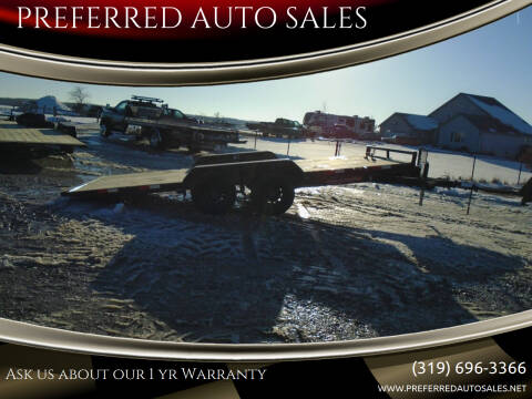 2021 H&H 20X83 POWER TILT CAR HAULER for sale at PREFERRED AUTO SALES in Lockridge IA