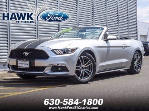 2017 Ford Mustang for sale at Hawk Ford of St. Charles in St Charles IL
