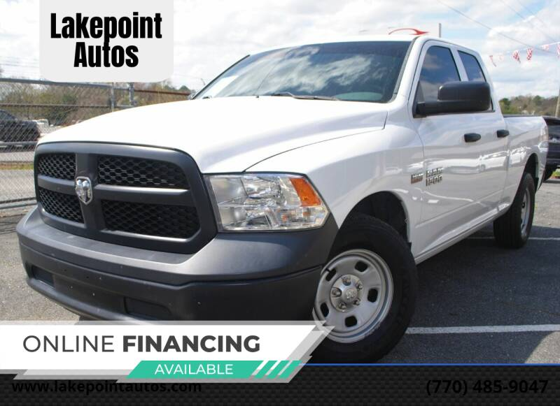 2016 RAM Ram Pickup 1500 for sale at Lakepoint Autos in Cartersville GA