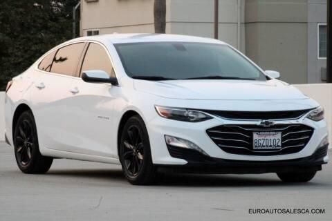 2019 Chevrolet Malibu for sale at Euro Auto Sales in Santa Clara CA