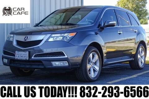 2011 Acura MDX for sale at CAR CAFE LLC in Houston TX