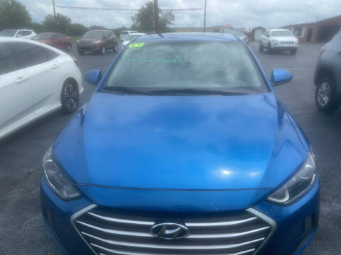 2017 Hyundai Elantra for sale at EAGLE ONE AUTO SALES in Leesburg OH