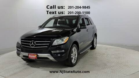 2015 Mercedes-Benz M-Class for sale at NJ State Auto Used Cars in Jersey City NJ