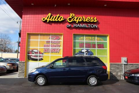 2006 Toyota Sienna for sale at AUTO EXPRESS OF HAMILTON LLC in Hamilton OH