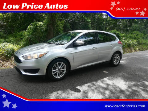 2016 Ford Focus for sale at Low Price Autos in Beaumont TX