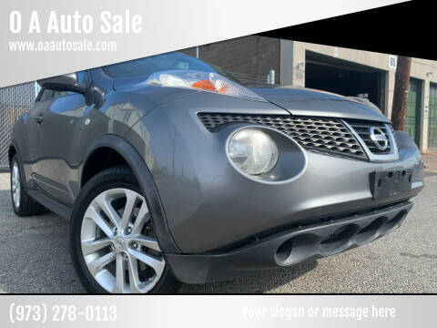 2013 Nissan JUKE for sale at O A Auto Sale in Paterson NJ