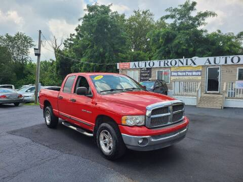 2002 Dodge Ram Pickup 1500 for sale at Auto Tronix in Lexington KY