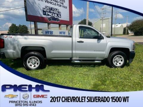 2017 Chevrolet Silverado 1500 for sale at Piehl Motors - PIEHL Chevrolet Buick Cadillac in Princeton IL