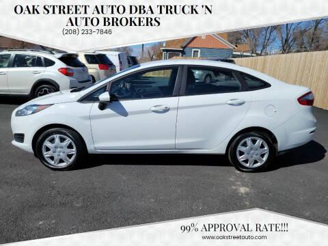 2019 Ford Fiesta for sale at Oak Street Auto DBA Truck 'N Auto Brokers in Pocatello ID