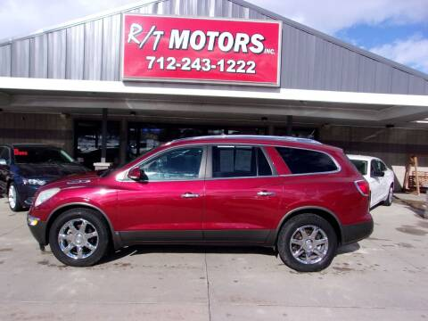 2010 Buick Enclave for sale at RT Motors Inc in Atlantic IA