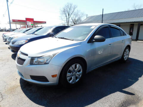 2012 Chevrolet Cruze for sale at WOOD MOTOR COMPANY in Madison TN