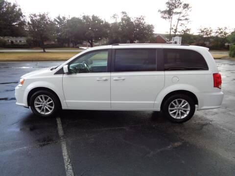 2018 Dodge Grand Caravan for sale at BALKCUM AUTO INC in Wilmington NC