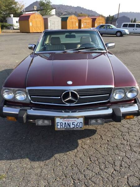1988 Mercedes-Benz 560-Class for sale at Siskiyou Auto Sales in Yreka CA