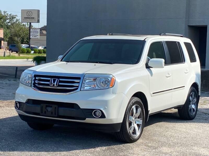 2012 Honda Pilot for sale at Strait Motor Cars Inc in Houston TX