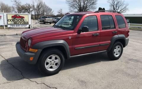 2006 Jeep Liberty for sale at Cordova Motors in Lawrence KS