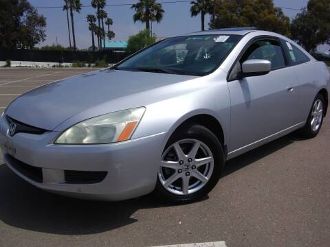 2004 Honda Accord for sale at Trini-D Auto Sales Center in San Diego CA