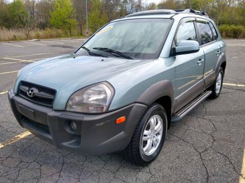 2008 Hyundai Tucson for sale at Washington Street Auto Sales in Canton MA