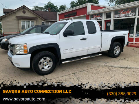 2011 Chevrolet Silverado 1500 for sale at SAVORS AUTO CONNECTION LLC in East Liverpool OH